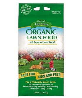 espoma lawn food bag